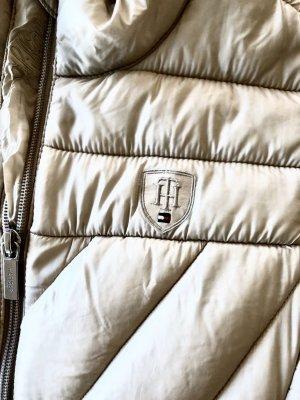 Tommy Hilfiger Weste Daunenweste XS Vintage weiß hell beige