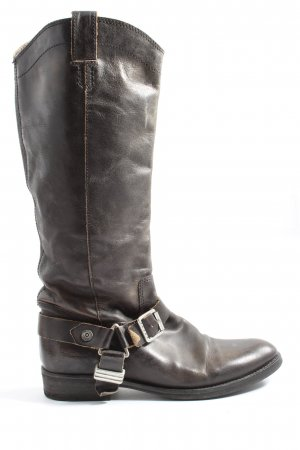 Tommy Hilfiger Boots western brun style décontracté