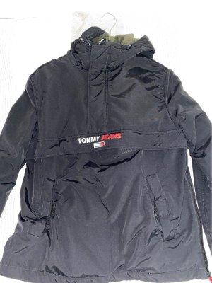 Tommy hilfiger windbreaker in schwarz
