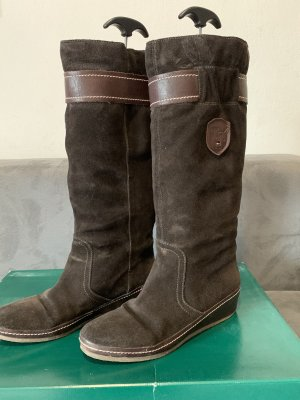Tommy Hilfiger Slouch Boots brown-dark brown