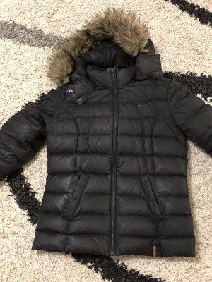 Tommy Hilfiger Denim Chaqueta de invierno negro