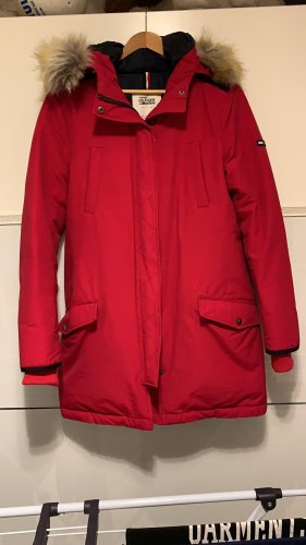 Tommy Hilfiger Giacca invernale rosso mattone
