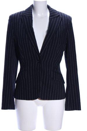 Tommy Hilfiger Wool Blazer black-light grey striped pattern business style
