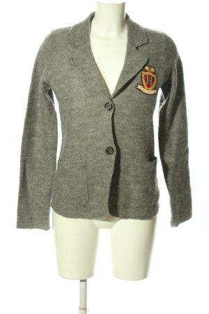 Tommy Hilfiger Giacca di lana grigio chiaro puntinato stile casual