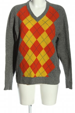 Tommy Hilfiger Wollpullover Karomuster Casual-Look