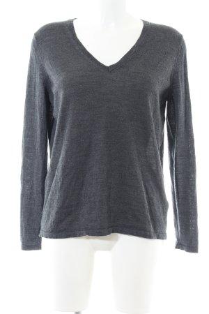 Tommy Hilfiger Jersey de lana gris claro moteado look casual