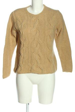 Tommy Hilfiger Pull en laine blanc cassé torsades style décontracté