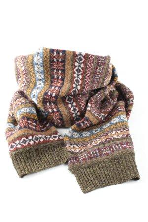 Tommy Hilfiger Bufanda de lana caqui-blanco