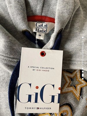 Tommy Hilfiger x Gigi Hadid Hoodie/ Kapuzensweater M / Pullover / Sweater