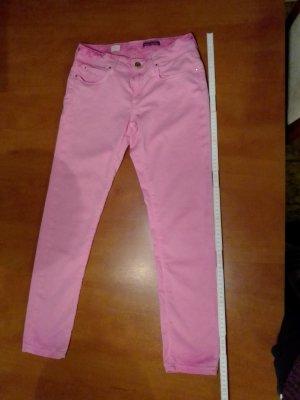 Tommy Hilfiger Pantalone a vita bassa rosa
