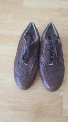 Tommy Hilfinger Leder- Sneaker in braun, Größe 39