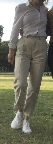 Tommy Jeans Pantalone chino bianco sporco