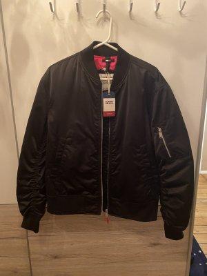 Tommy Jeans Bomber Jacket black