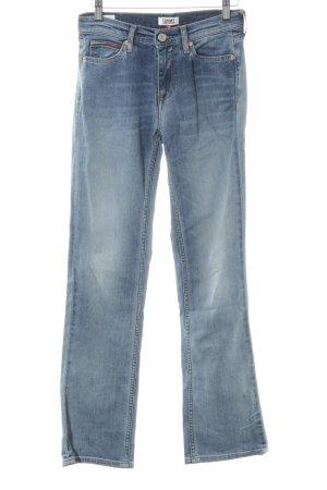Tommy Jeans Boot Cut Jeans blassblau-dunkelblau Casual-Look