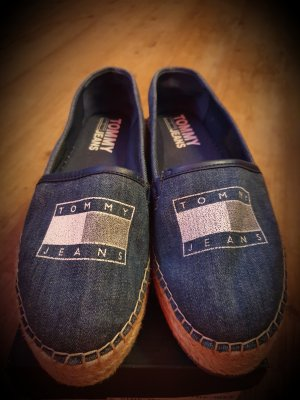 Tommy Jeans Espadrille Sandals steel blue