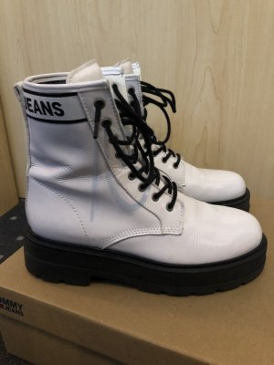 Tommy Jeans Aanrijglaarsjes wit