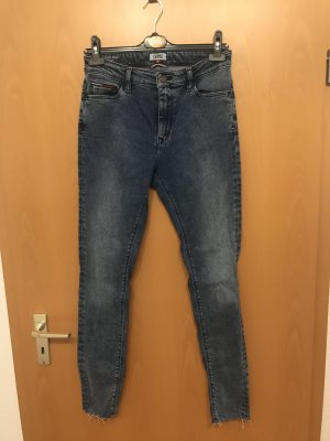 Tommy Jeans Hoge taille jeans staalblauw