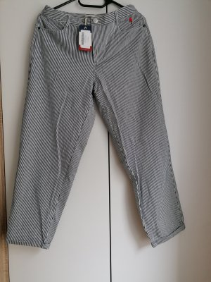 Tommy Jeans Hose gestreift W27 S 36 cropped 7/8 Hilfiger NEU!