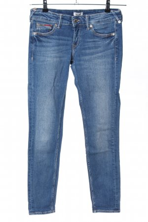 Tommy Jeans Hüftjeans blau Casual-Look