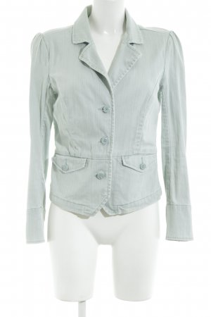 Tommy Jeans Blazer in jeans turchese stile casual