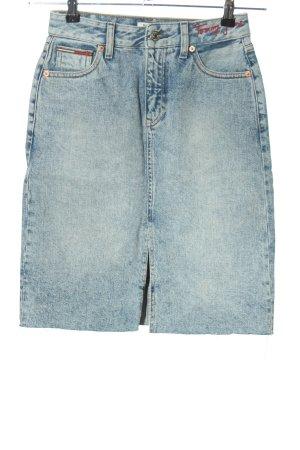 Tommy Jeans Jeansrock blau Casual-Look
