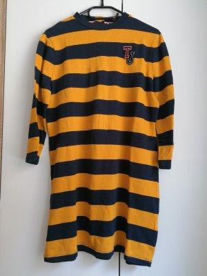 Tommy Hilfiger Sweat Dress gold orange-dark blue