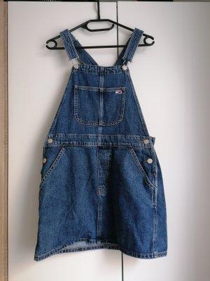 Tommy Jeans Kleid Latzkleid Hilfiger S 36 Latzhose