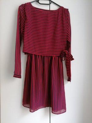 Tommy Hilfiger Sukienka koszulowa ciemnoniebieski-czerwony