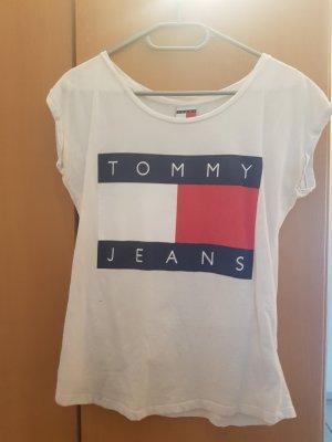 tommy jeans logo T-shrt