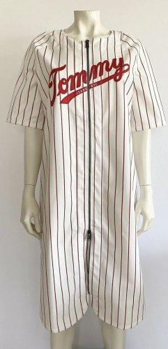 "Tommy Jeans ""Low Baseball Dress"" Kleid Gr. XS oversize Logo Hilfiger"