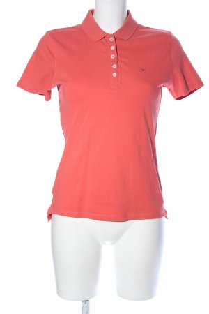 Tommy Jeans Polo-Shirt rot Casual-Look