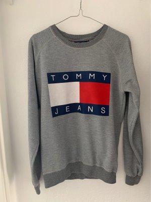Tommy Jeans Pull en maille fine multicolore coton
