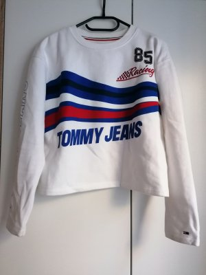 Tommy Jeans Pullover racing XS 34 Logo Hilfiger Sweatshirt