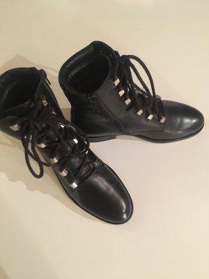 Tommy Jeans Schnürstiefeletten schwarz in Größe 37