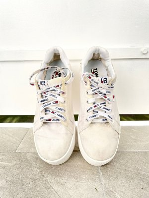 Tommy Jeans Heel Sneakers white