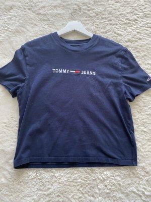 Tommy Jeans T-shirt blu-blu scuro
