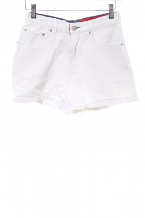 Tommy Jeans Shorts weiß Casual-Look