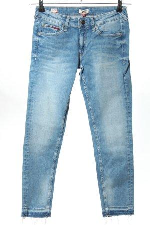 Tommy Jeans Slim Jeans blau Casual-Look