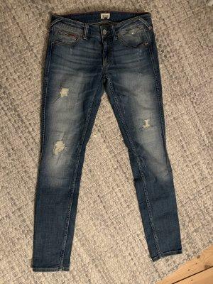 Tommy Hilfiger Denim Low Rise jeans lichtblauw-blauw