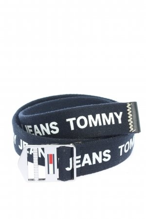 Tommy Jeans Cintura in tessuto nero-bianco stampa integrale stile casual