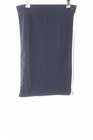 Tommy Jeans Stretchrock Streifenmuster Casual-Look