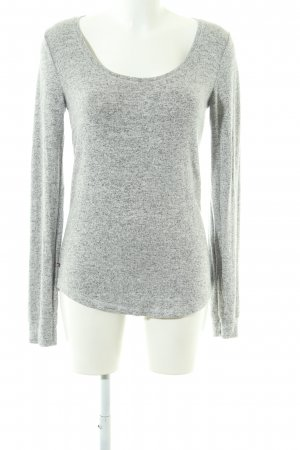Tommy Jeans Strickpullover hellgrau meliert Casual-Look