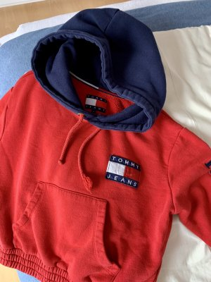 Tommy Jeans Sweat Shirt red-dark blue