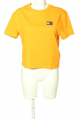 Tommy Jeans T-Shirt hellorange Casual-Look