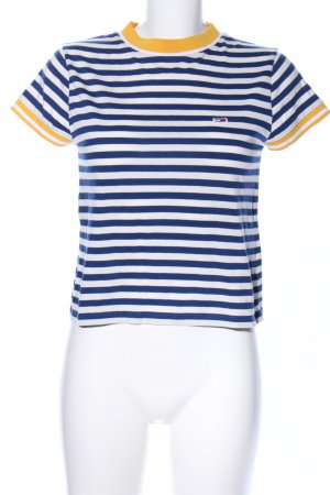 Tommy Jeans T-Shirt Streifenmuster Casual-Look