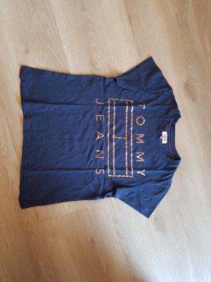 Tommy Jeans T-Shirt dunkelblau navy XS 34