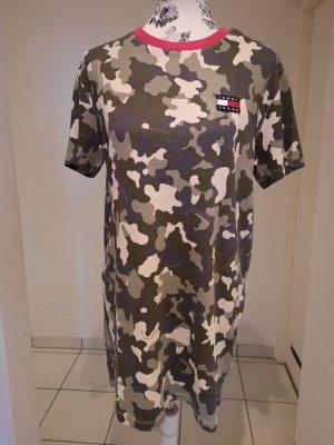 Tommy Jeans TJW Camo Tee Dress Olive Tree Gr. XS neuwertig!