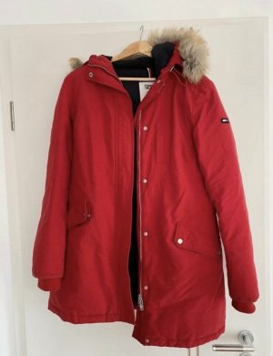 Tommy Jeans Winter Jacket red
