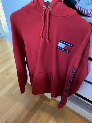 Tommy Hilfiger Capuchon sweater rood