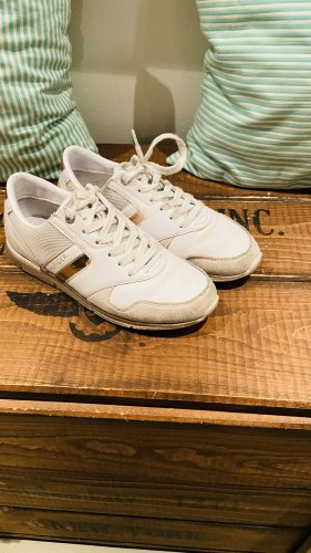 Tommy Hilfiger Sneakers met veters wit-roségoud